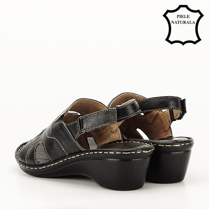 Sandale din piele naturala Geta [3]