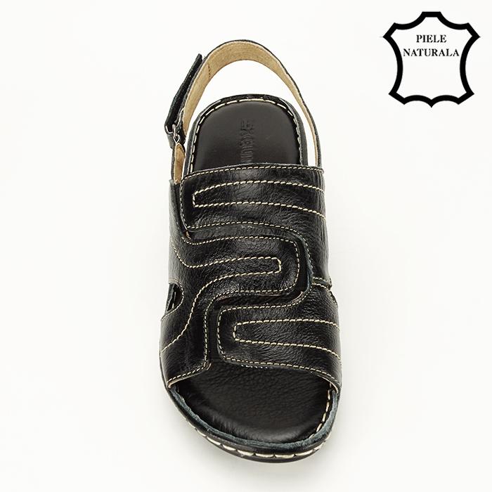 Sandale din piele naturala Geta [2]