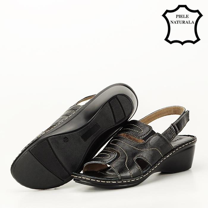 Sandale din piele naturala Geta [6]