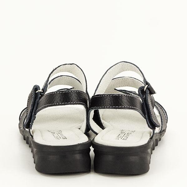 Sandale negre din piele naturala Suzana [5]