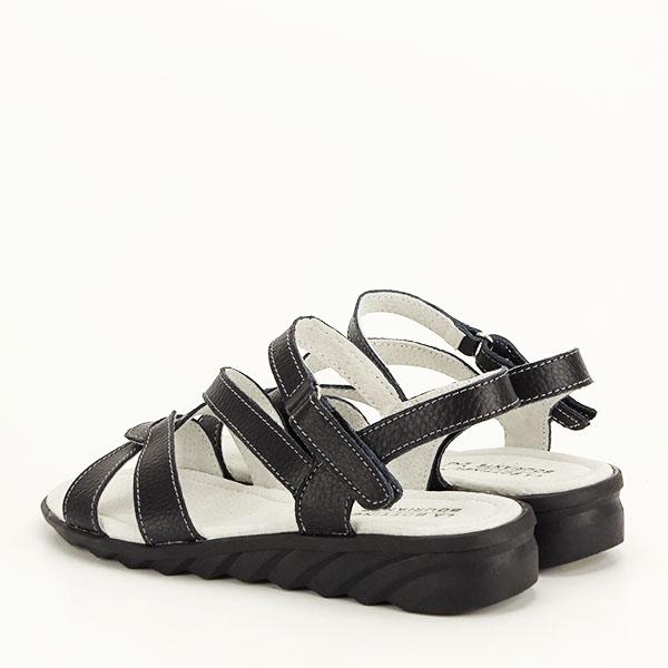 Sandale negre din piele naturala Suzana [3]