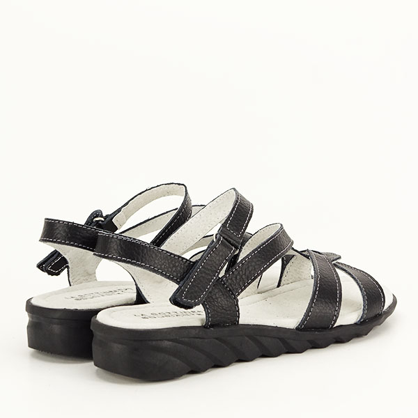 Sandale negre din piele naturala Suzana [4]