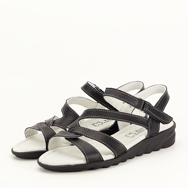 Sandale negre din piele naturala Suzana [1]