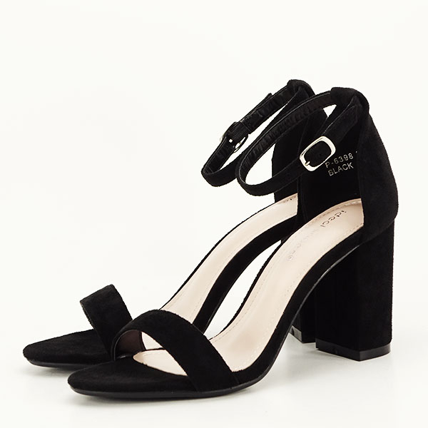 Sandale negre elegante Sabina [1]