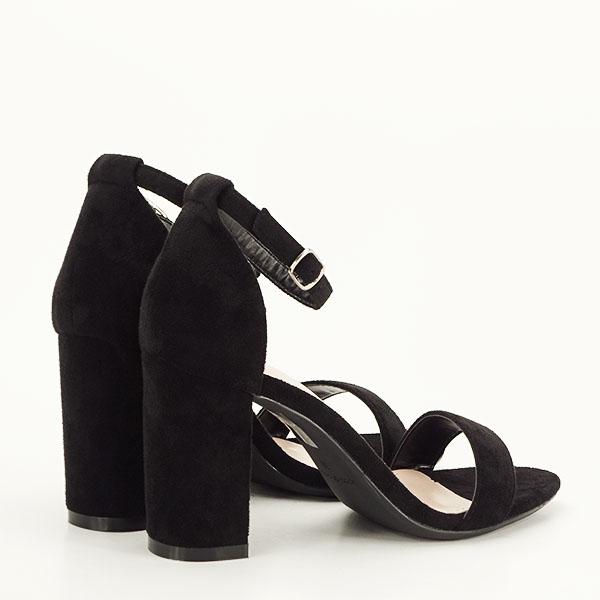 Sandale negre elegante Sabina [4]
