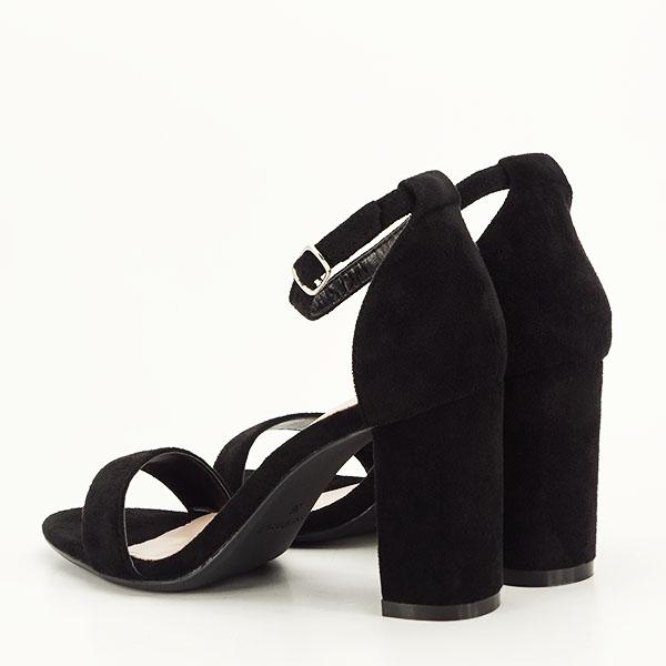 Sandale negre elegante Sabina [3]