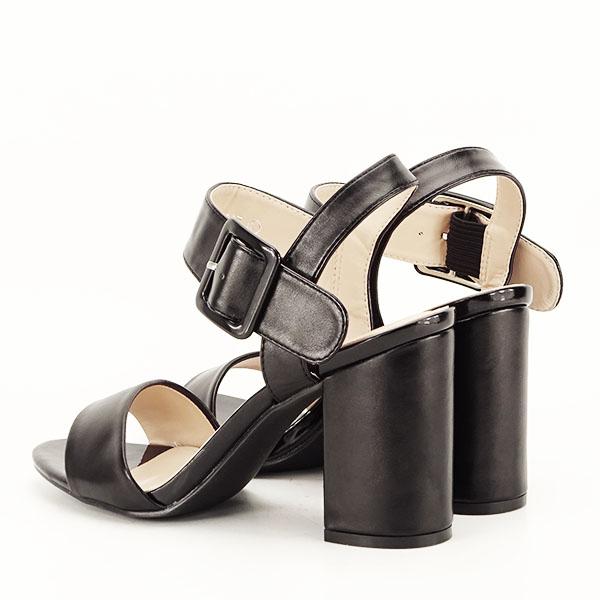 Sandale negre office/casual Berna [4]