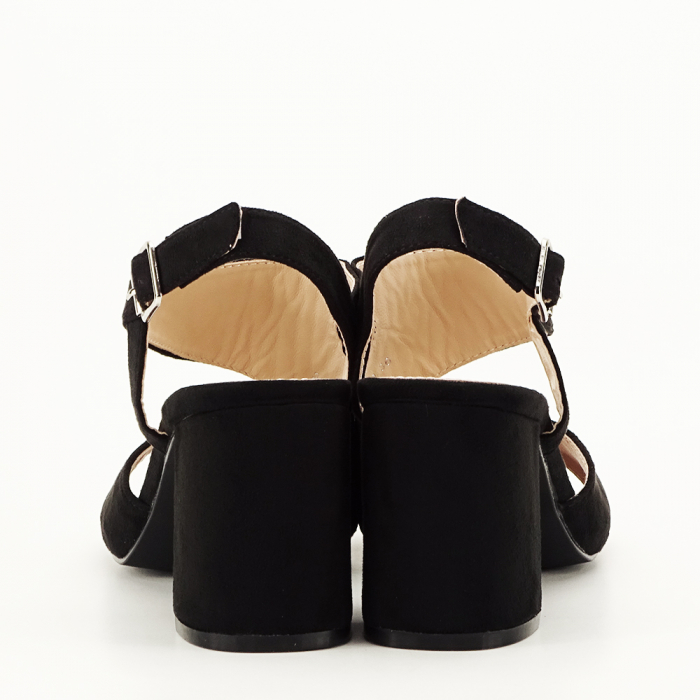Sandale negre office/casual Olive [6]