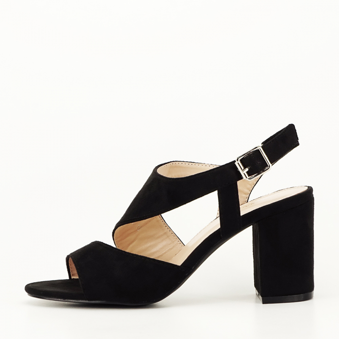 Sandale negre office/casual Olive [2]