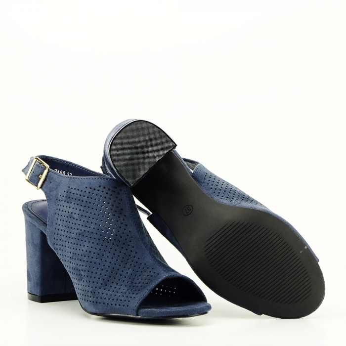 Sandale perforate beumarin Bianca 4
