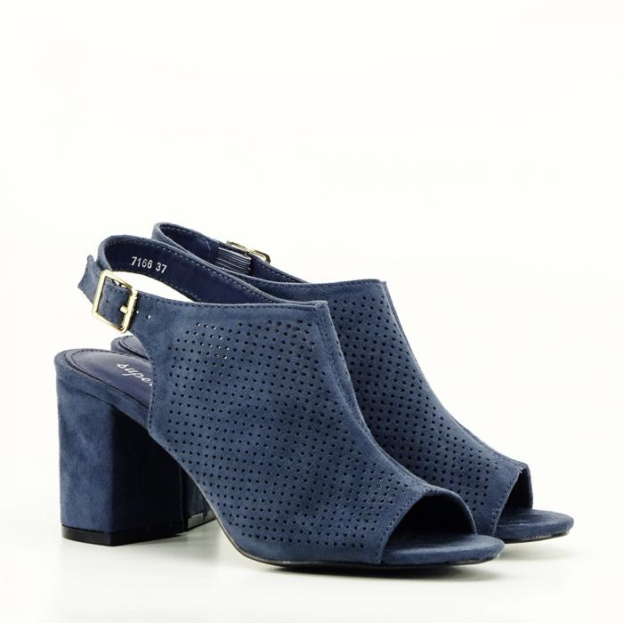 Sandale perforate beumarin Bianca 3