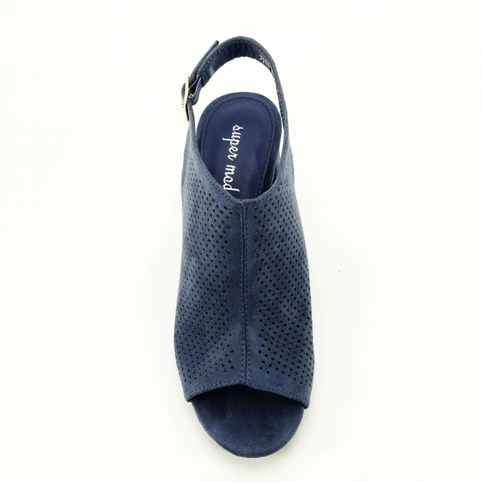 Sandale perforate beumarin Bianca 2