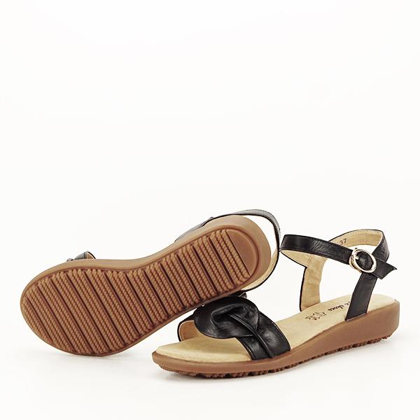 Sandale piele naturala negre Lori [7]
