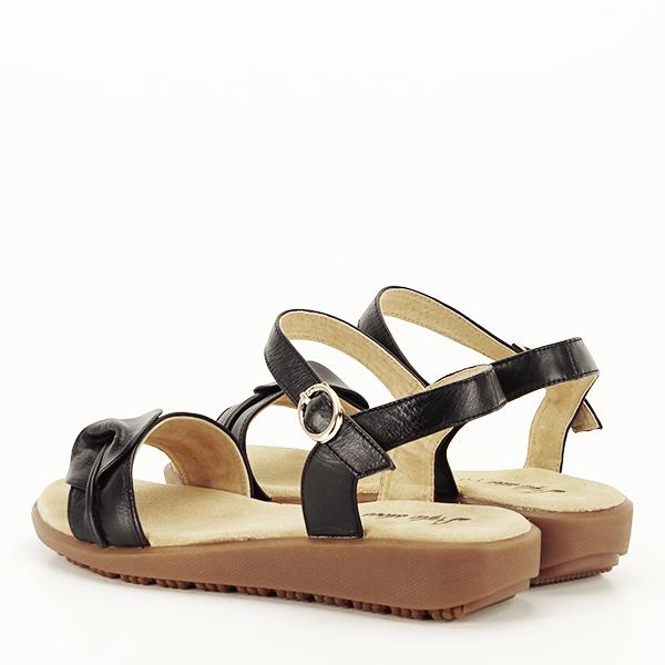 Sandale piele naturala negre Lori [3]