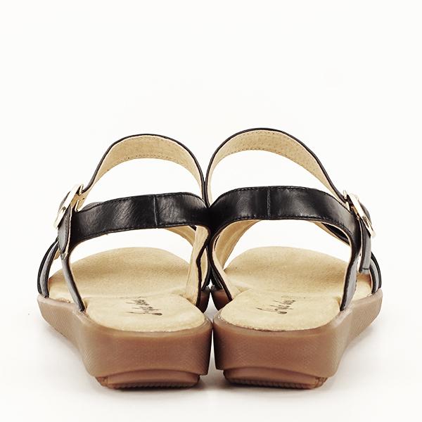 Sandale piele naturala negre Lori [4]