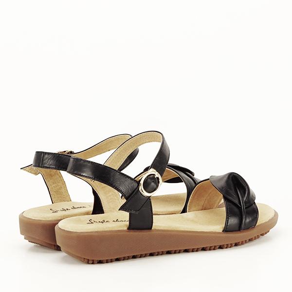 Sandale piele naturala negre Lori [5]