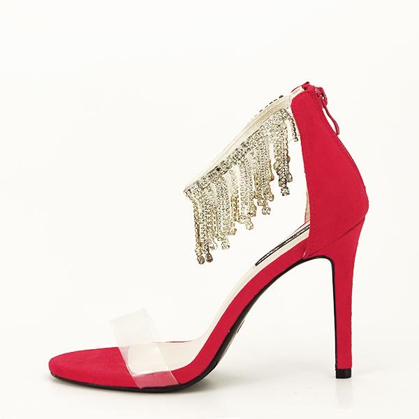 Sandale negre elegante Ioana