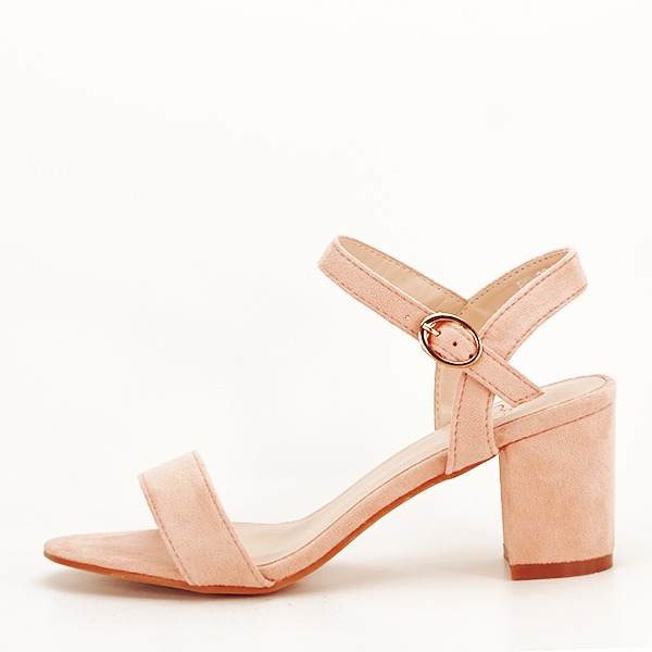 Sandale roz pudra Daria [0]