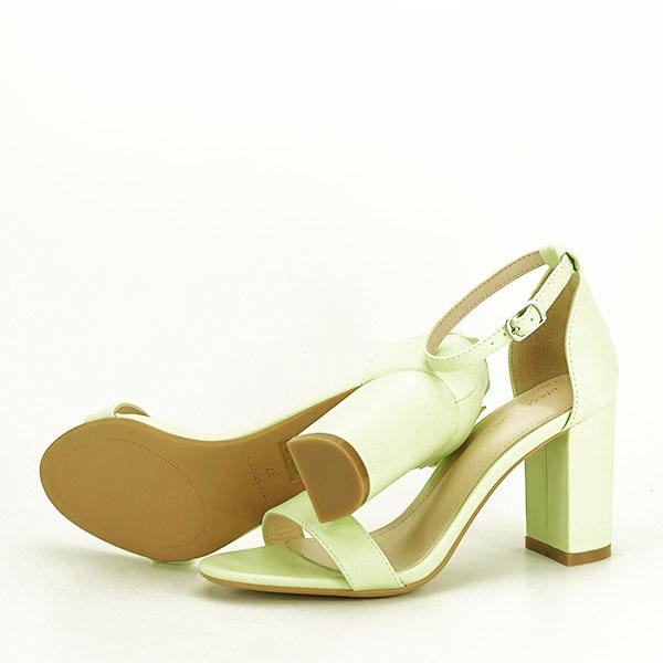 Sandale verzi cu toc gros Ingrid 2 [6]