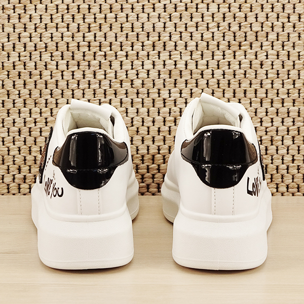 Sneakers alb cu brosa Mina [5]