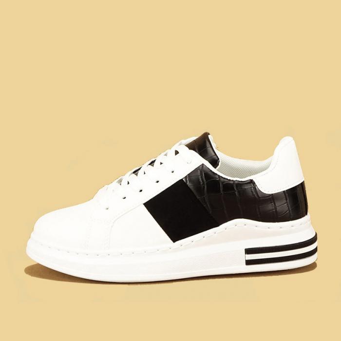Sneakers alb cu negru Carise [0]