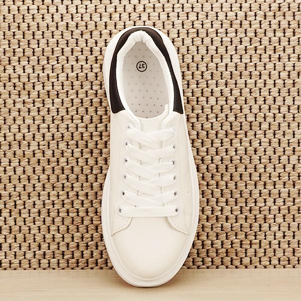 Sneakers alb cu negru Madison [6]