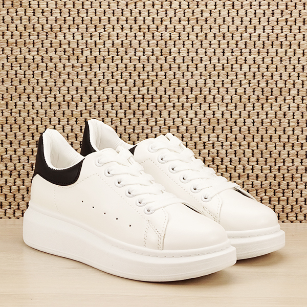 Sneakers alb cu negru Madison [2]