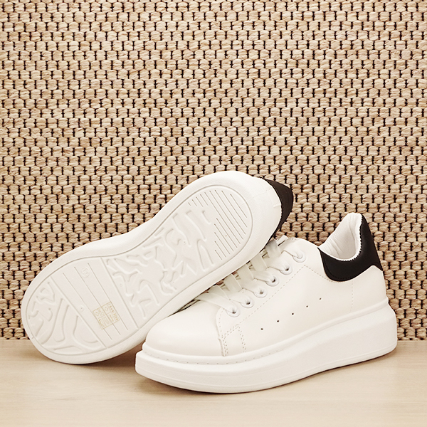 Sneakers alb cu negru Madison [7]