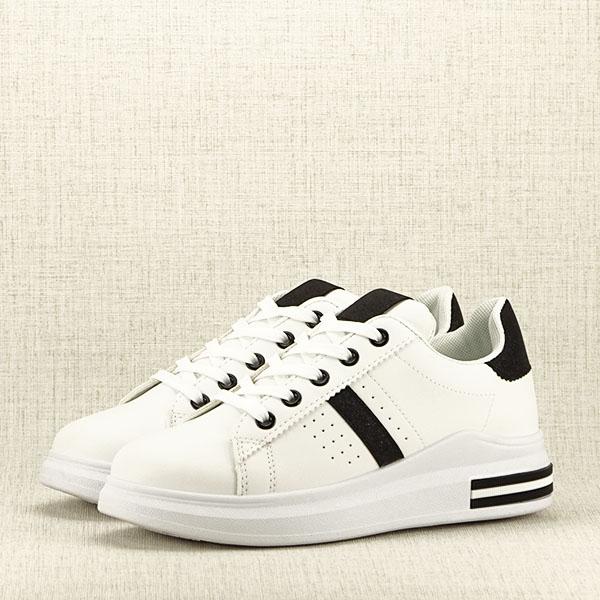 Sneakers alb cu negru Sonia 2 [2]