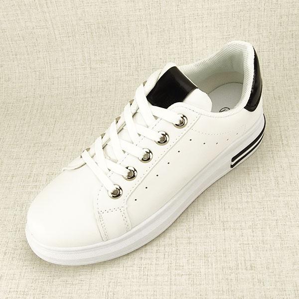 Sneakers alb cu negru Sonia 1