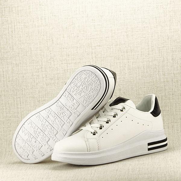 Sneakers alb cu negru Sonia 7