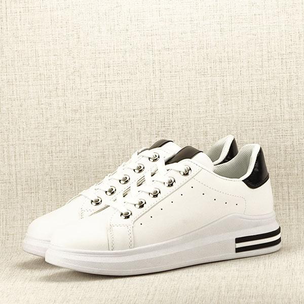 Sneakers alb cu negru Sonia 2