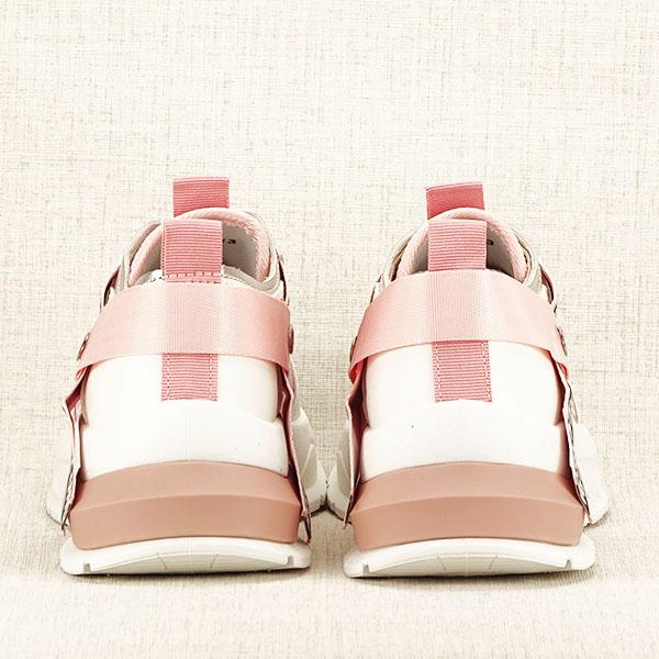 Sneakers alb cu roz Mara [5]