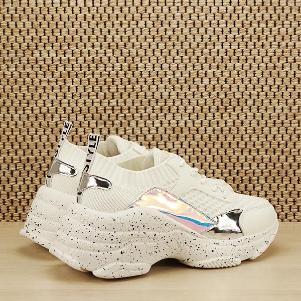Sneakers alb Martina [4]