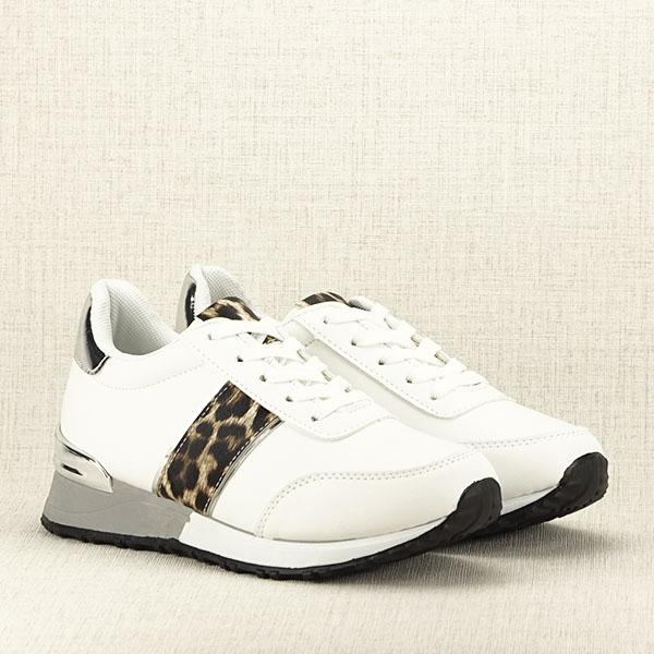 Sneakers alb Maya [3]