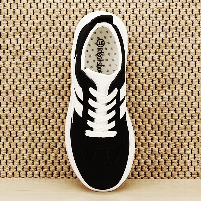 Sneakers alb/negru Calista [6]
