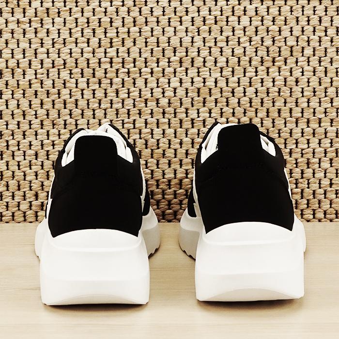 Sneakers alb/negru Calista [5]