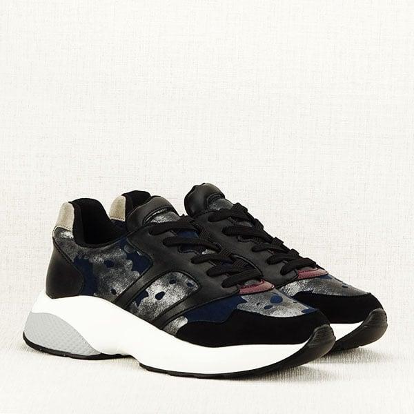 Sneakers albastru cu negru Ania 3