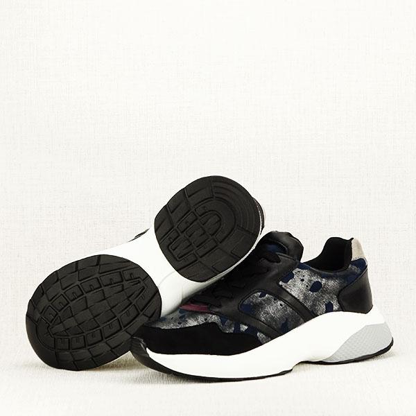 Sneakers albastru cu negru Ania [7]