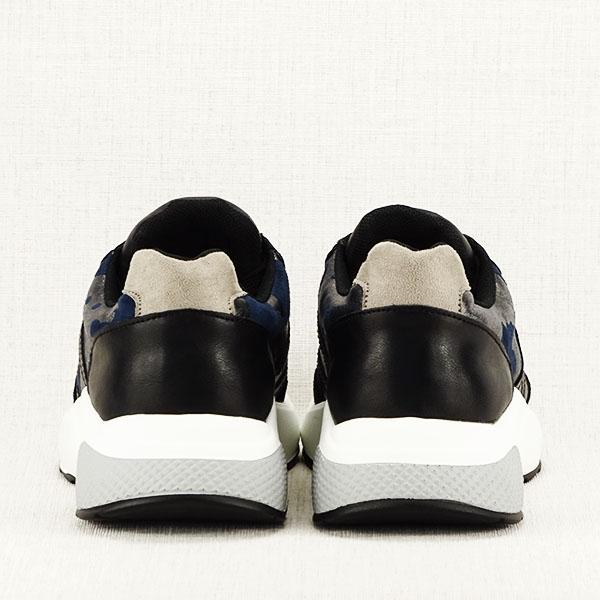 Sneakers albastru cu negru Ania 6