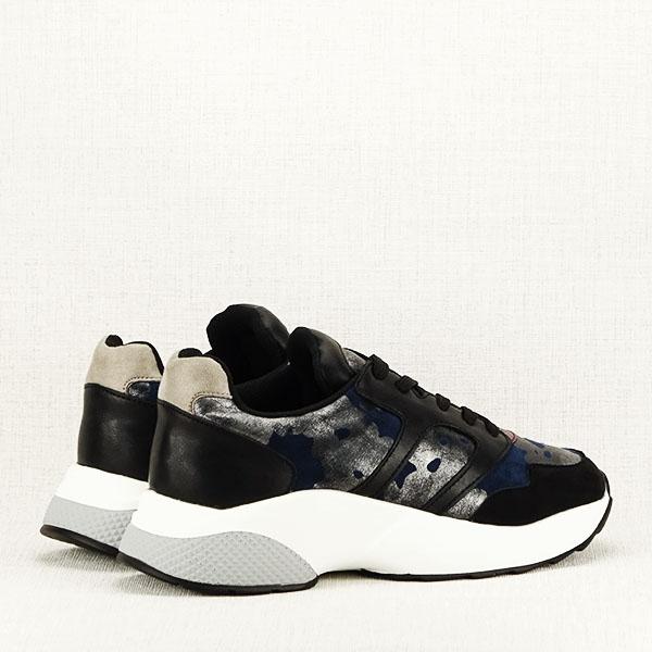 Sneakers albastru cu negru Ania 4