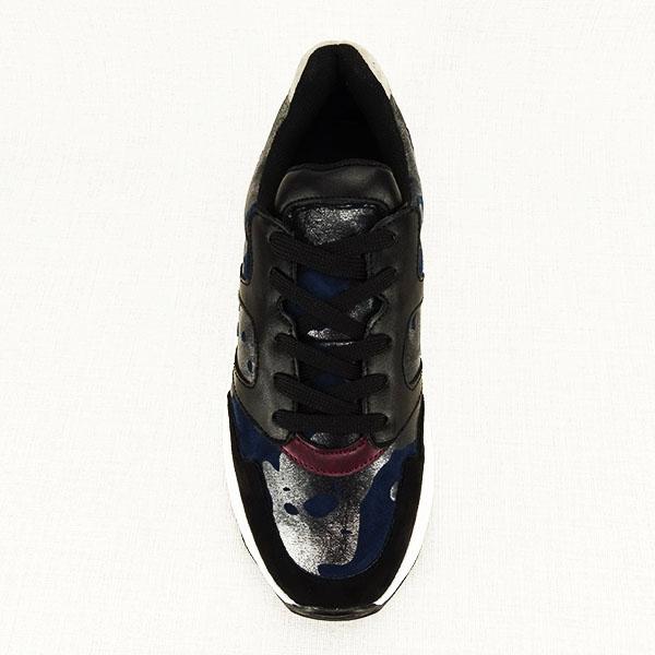 Sneakers albastru cu negru Ania [1]