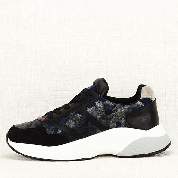 Sneakers albastru cu negru Ania [0]