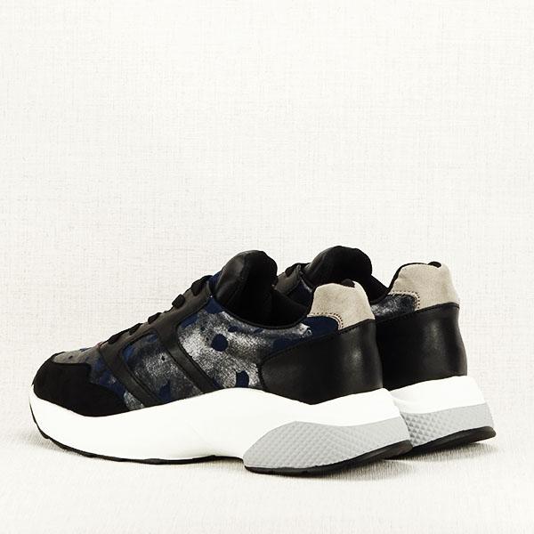 Sneakers albastru cu negru Ania 5