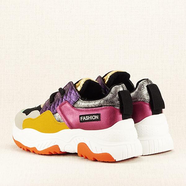 Sneakers auriu Valeria [4]