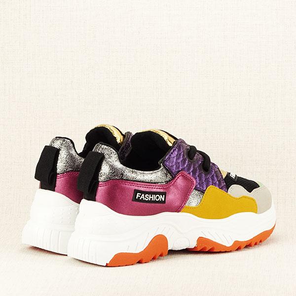 Sneakers auriu Valeria [5]
