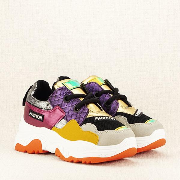 Sneakers auriu Valeria [3]