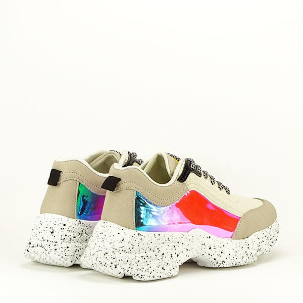 Sneakers bej Daiana 5