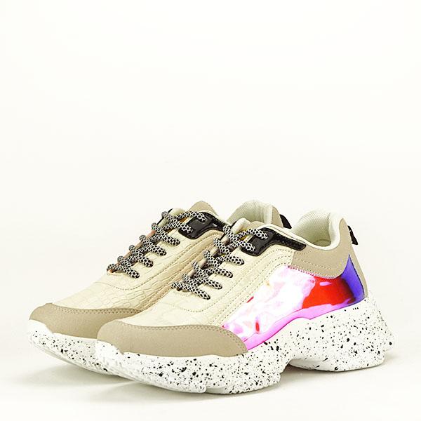 Sneakers bej Daiana 2