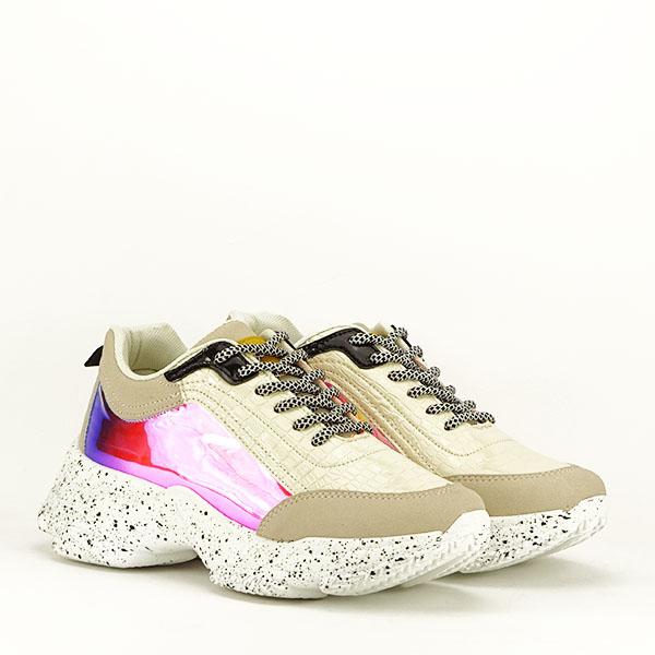 Sneakers bej Daiana 3